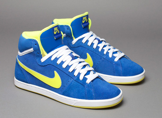 Nike SB Classic High Varsity Royal/Voltage Yellow @ ShockBlast