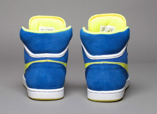 Nike SB Classic High Varsity Royal/Voltage Yellow   dailyshit fashion design       ShockBlast