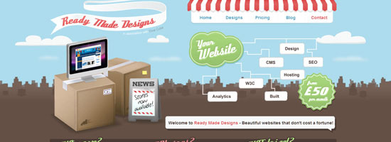 3D Elements in Web Design @ ShockBlast