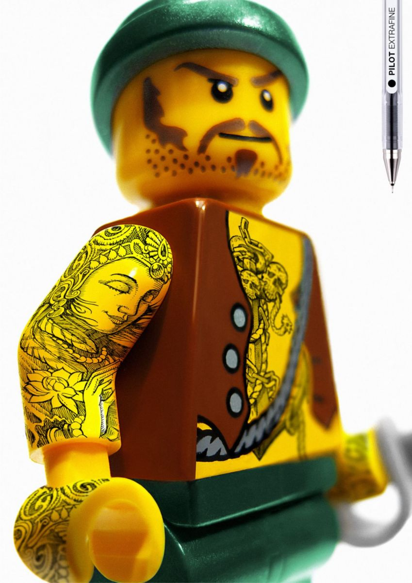 Tattood LEGOz   dailyshit design    style street fresh art    ShockBlast