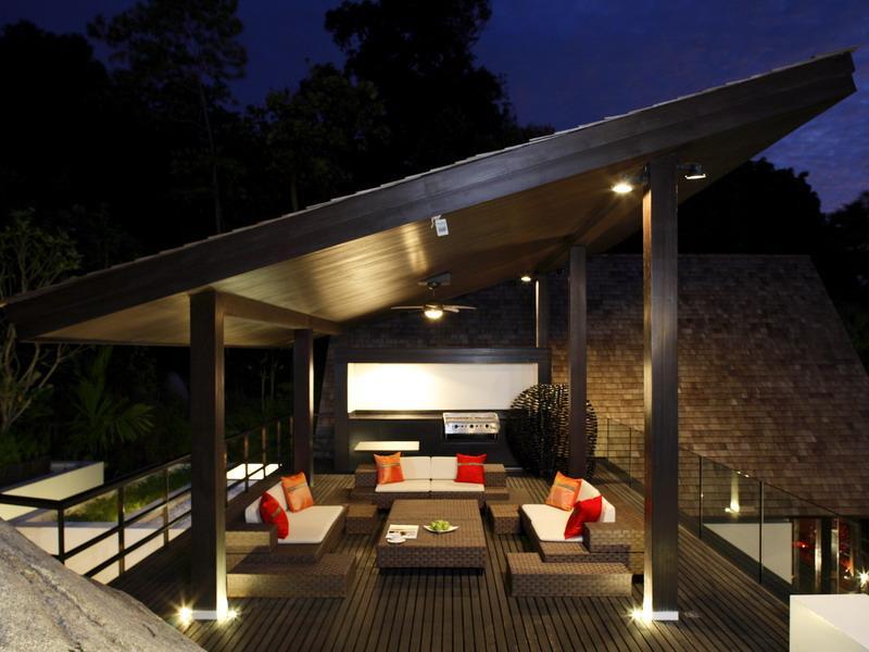 Фото террас с мангалом и прозрачной крышей дизайн