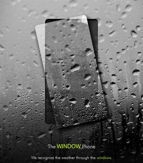 Window Concept Phone @ ShockBlast