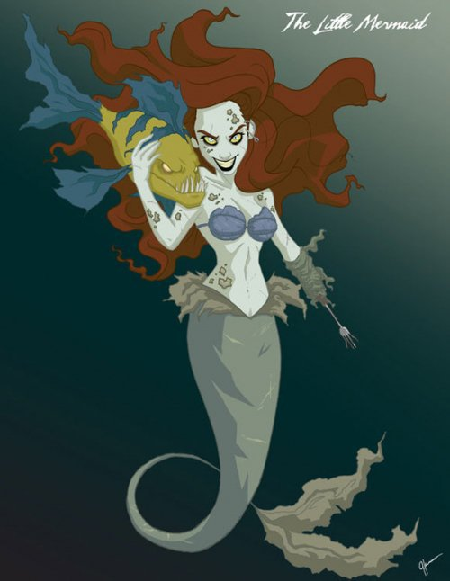 Disneys zombie princess @ ShockBlast