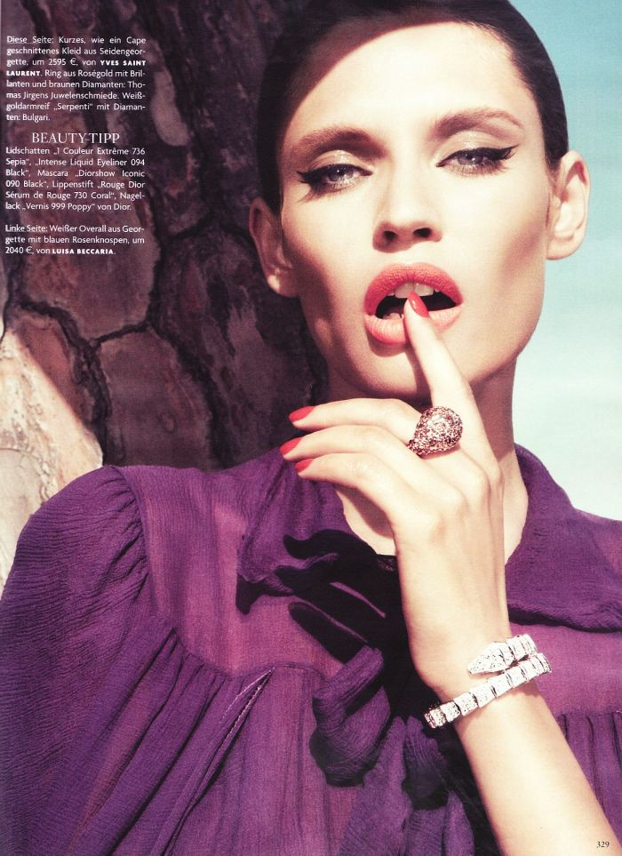 Bianca Balti x Vogue @ ShockBlast
