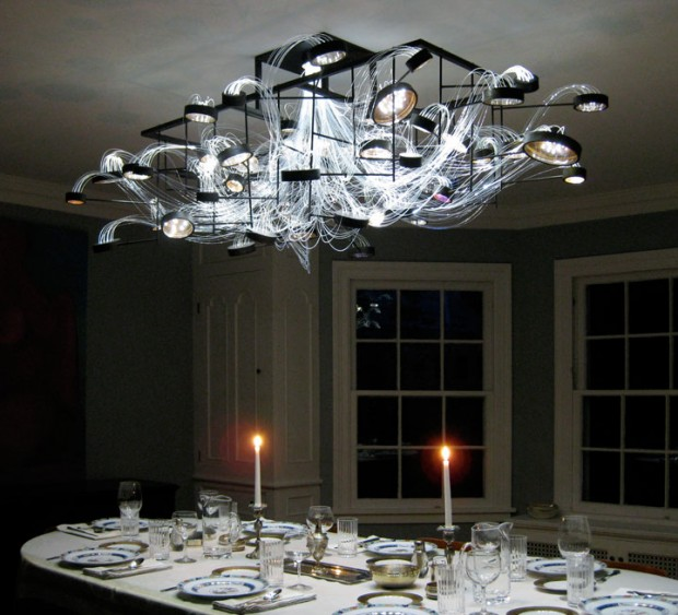 Fiber Optic Chandelier @ ShockBlast