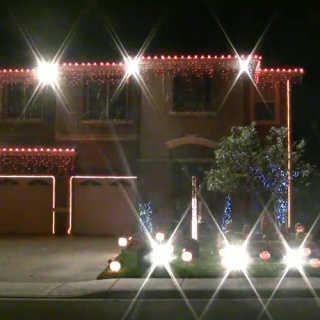 Halloween Light Show House @ ShockBlast