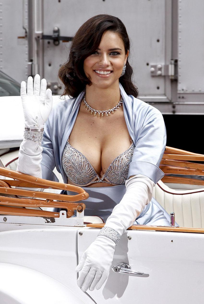 Million Dollar Cars >> Adriana Lima – $2 Million Bombshell Fantasy Bra - ShockBlast
