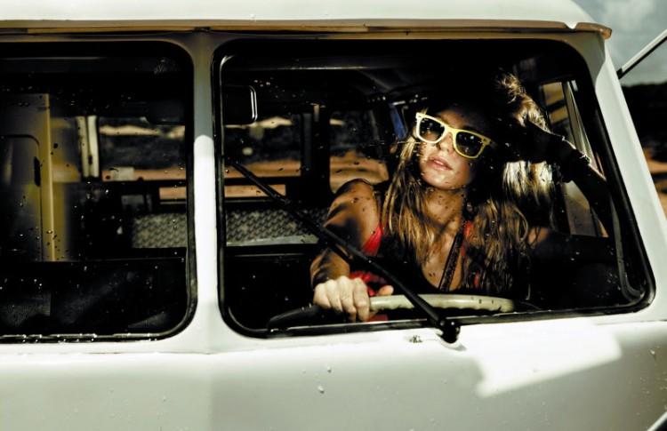 Erin Heatherton x Marie Claire   photography dailyshit fashion       ShockBlast
