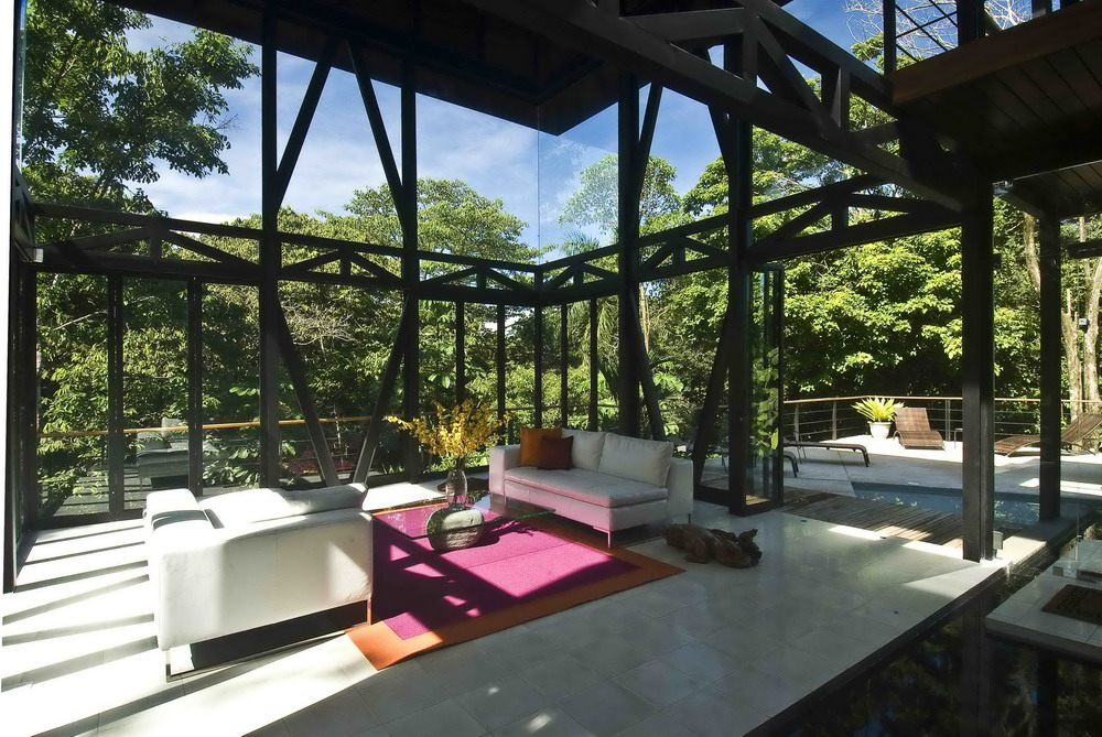 Awesome MC1 House By Robles Architects Design Inspirations