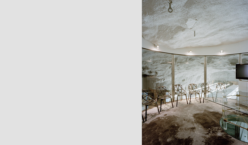 Bahnhof is a swedish internet their office was built in a old bomb shelter with the help of albert france lanord architects