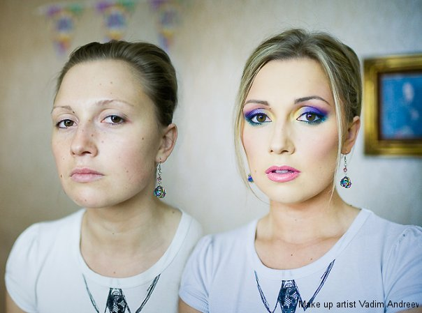 Vadim Andreev    make up @ ShockBlast