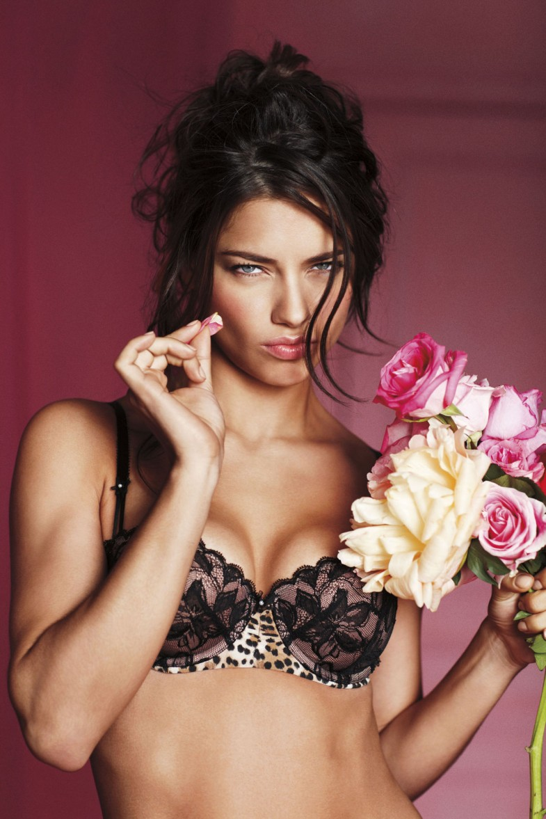 Adriana Lima x Valentines Day   photography dailyshit    victorias secret sexy photoshoot girls girl adriana lima    ShockBlast