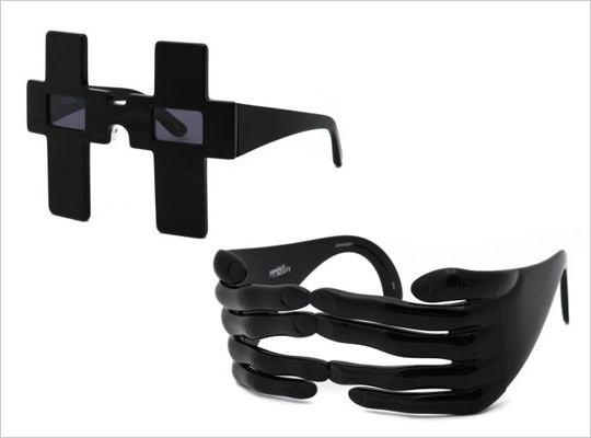 Jeremy Scott x Linda Farrow Sunglasses S/S 2011 @ ShockBlast