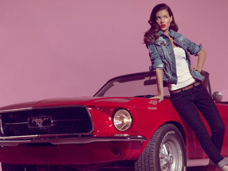 Sheila Marquez Blanco Jeans Shockblast