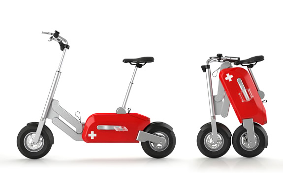 VOLTITUDE ELECTRIC SCOOTER @ ShockBlast