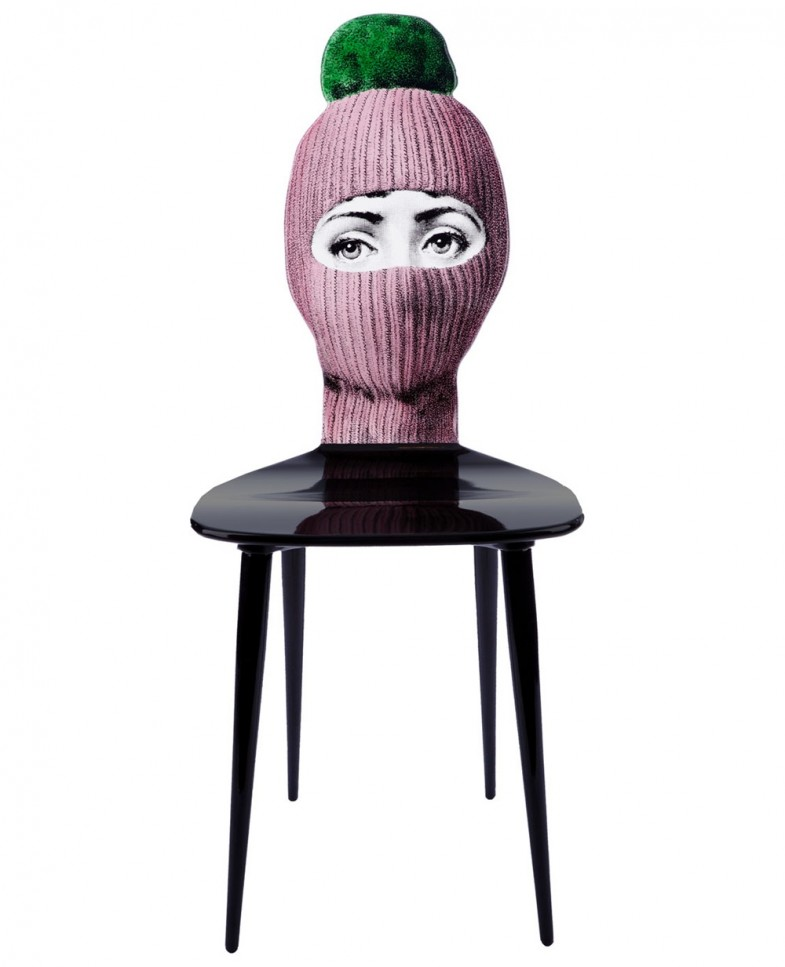 Wooden Chair by Fornasetti   dailyshit design    Wooden Fornasetti chair    ShockBlast
