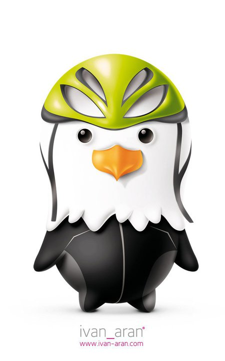 Ivan Aran Olympic Mascot   dailyshit design    Serbian Olympic Mascot Ivan Aran    ShockBlast