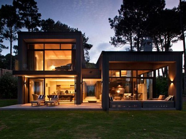 Active relaxation house shockblast for Modern new zealand homes