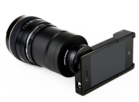 The iPhone SLR lens @ ShockBlast