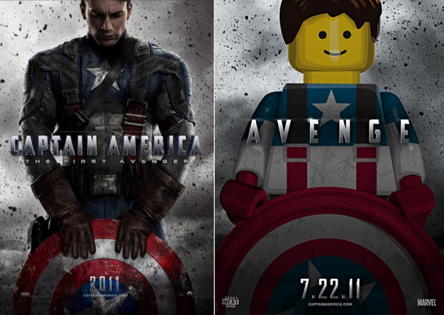 Movie Posters 2011: Lego Based Movie Posters
