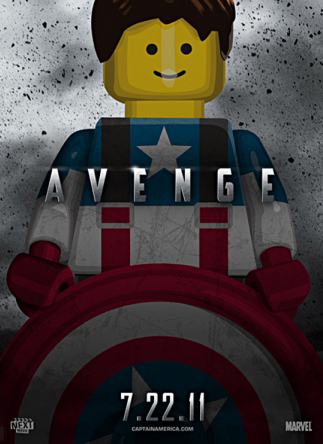Lego Based Movie Posters @ ShockBlast