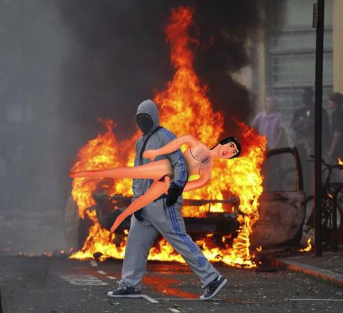 London Looters Shockblast