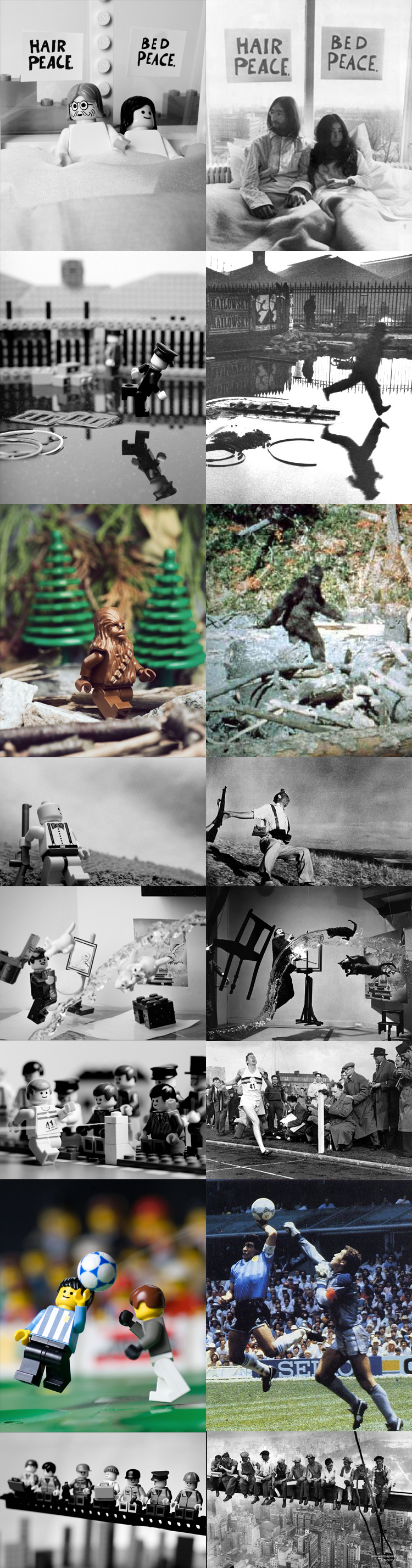 Famous Photographs in Lego @ ShockBlast