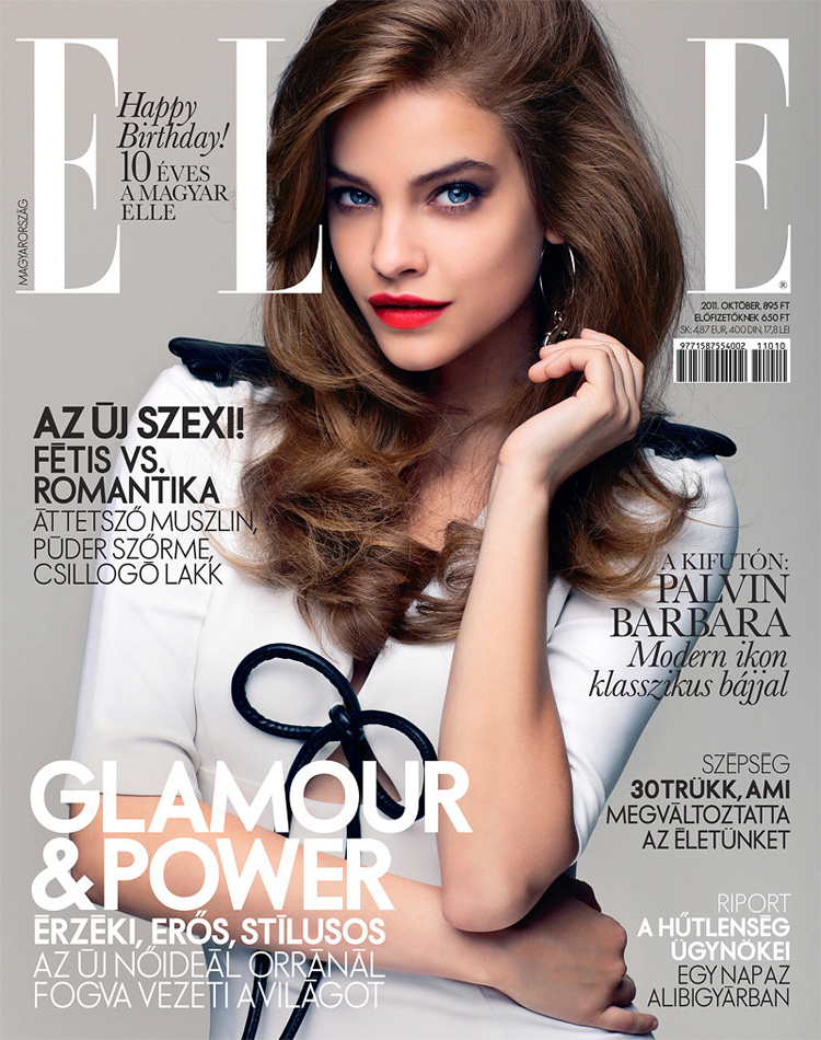 Barbara Palvin x Elle Hungary October 2011 @ ShockBlast