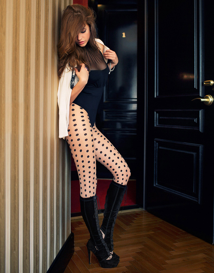 Barbara Palvin x Elle Hungary October 2011   photography dailyshit fashion       ShockBlast