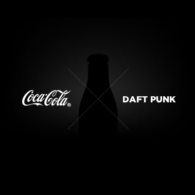 Daft Punk x Coca Cola   print design dailyshit design       ShockBlast