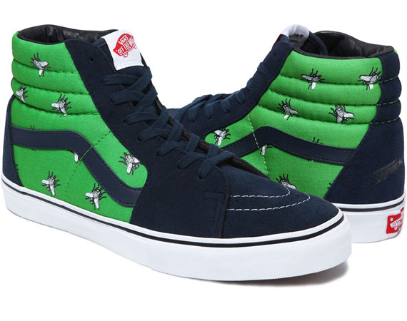 "Supreme x Vans 2011 Fall/Winter ""Flies"" Pack @ ShockBlast"
