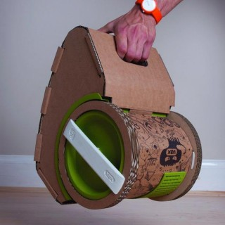 The Vax CARDBOARD vacuum cleaner