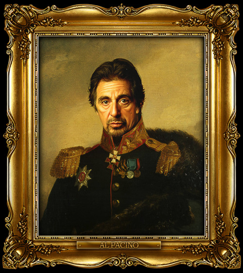 Today celebrities in 19th century paintings @ ShockBlast