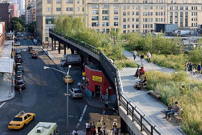 High line in new york city shockblast for New york city highline