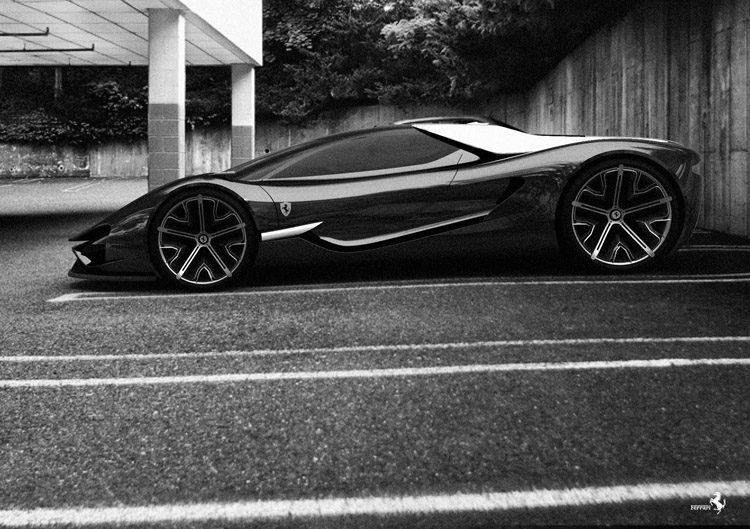 Ferrari Xezri Concept @ ShockBlast