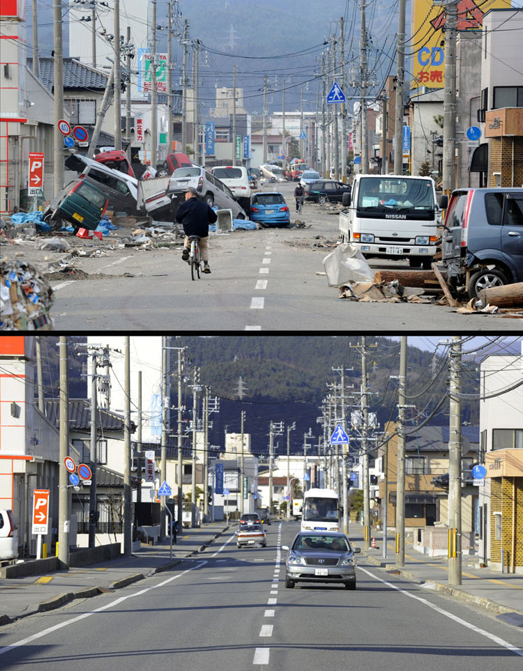 Tsunami clean up, Japan @ ShockBlast