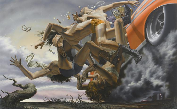 Nicola Verlato    worx   dailyshit design    paintings painting italy Italia    ShockBlast