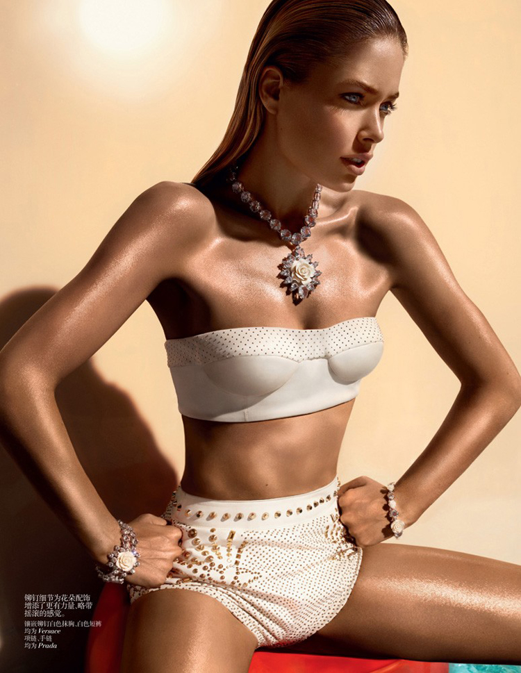 Doutzen Kroes    Vogue China, June 2012 @ ShockBlast