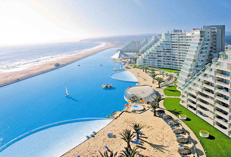 San Alfonso del Mar   Biggest Swimming Pool @ ShockBlast