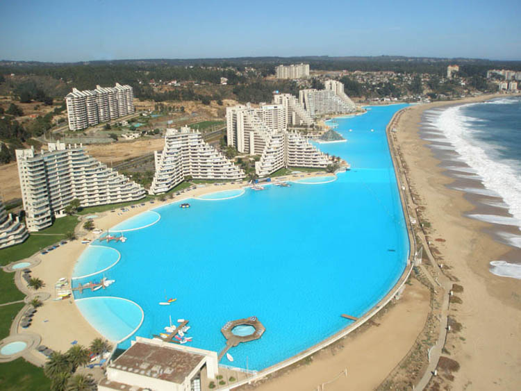 San alfonso del mar biggest swimming pool shockblast - The biggest swimming pool in chile ...