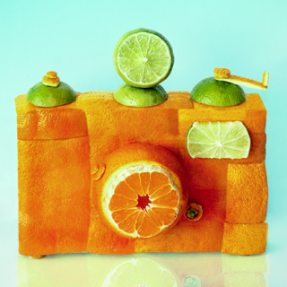Everyday Objects made from food