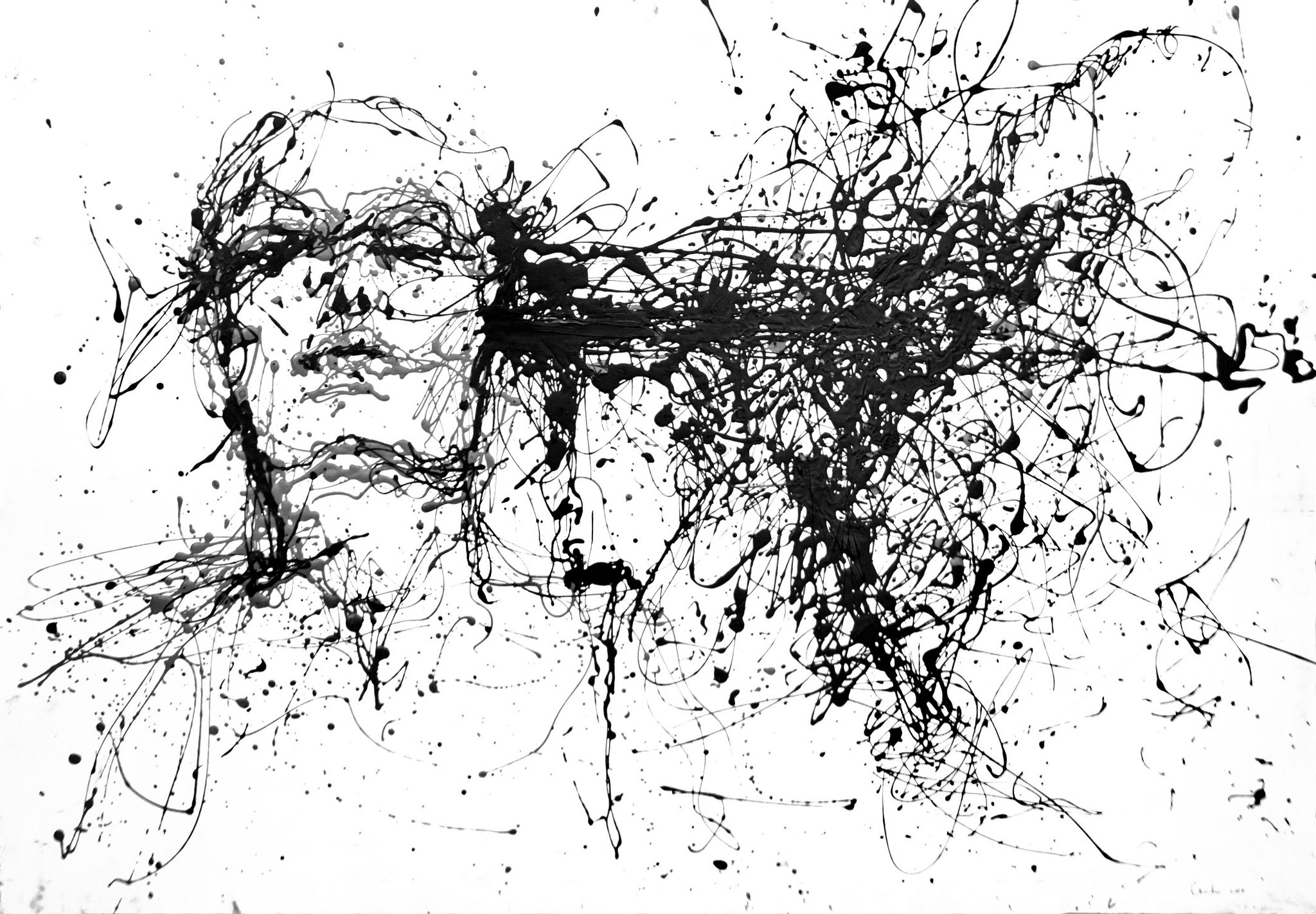 Ink Line Drawing Artists : Agnes cecile worx shockblast