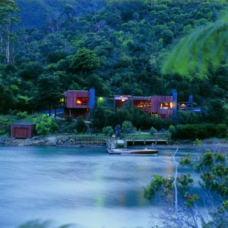 Waterfall Bay House, New Zealand