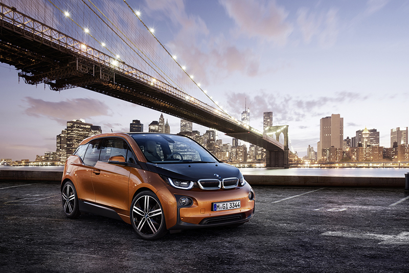 BMW i3 Electric Car @ ShockBlast