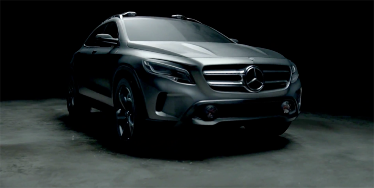Video mercedes benz sensations ad shockblast for Mercedes benz new advert