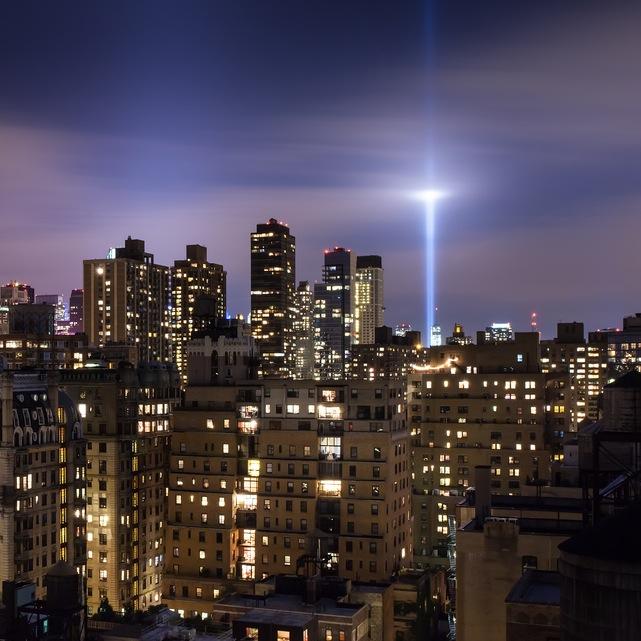 Lighting Nyc: Tribute In Light, New York