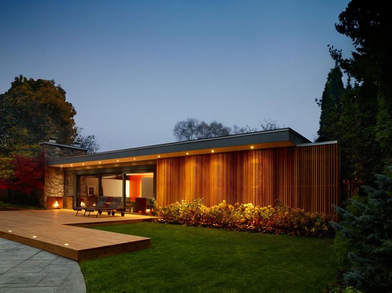 Pool House In Canada Shockblast