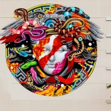 POW! WOW! Hawaii x Versace Mural by Tristan Eaton - ShockBlast