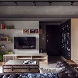 Apartment with industrial feel in Taiwan - ShockBlast