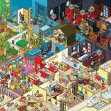 rod-hunt-illustrates-10-IKEA-families-their-aparments-for-russia-campaign-ShockBlast-0